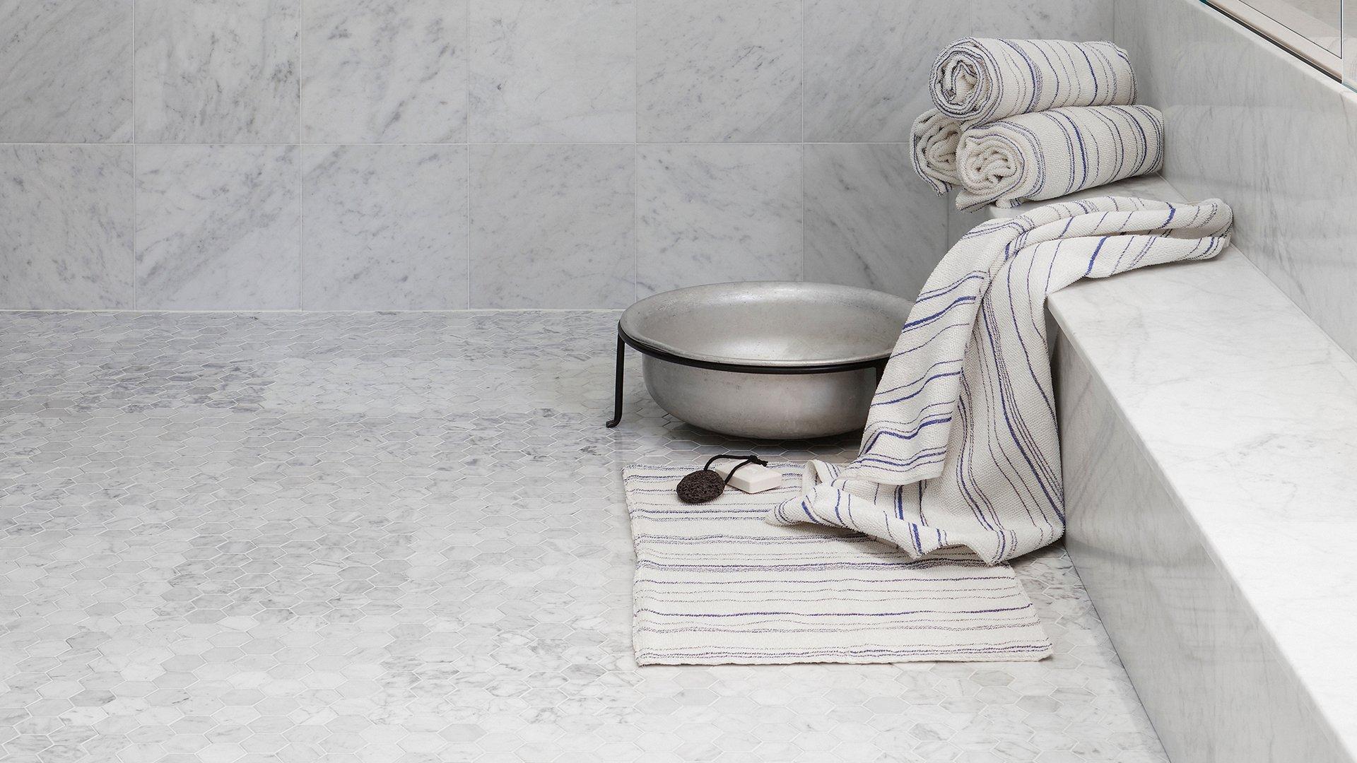 Tulikivi mosaiikit Carrara